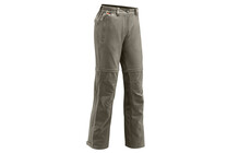 Vaude Women's Farley Stretch T-Zip Pants lightbrown